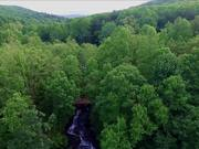 Amicalola as Drone Sees It