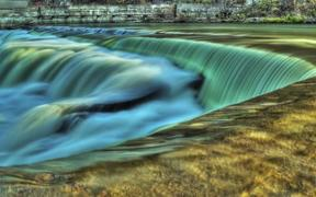 Unreal Falls HDR Time Lapse