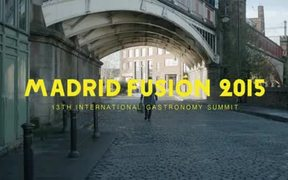 Madrid Fusion Video: The Man with Two Mouths