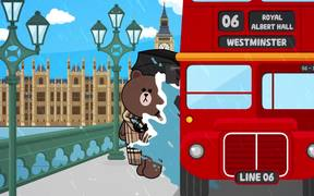 Brown & Cony Come to the Burberry Show