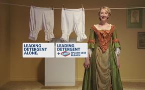 Clorox Campaign: Martha Washington's Dress