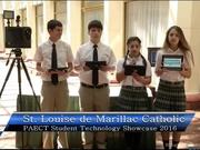 St. Louise de Marillac Catholic School Students