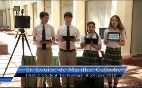 St. Louise de Marillac Catholic School Students