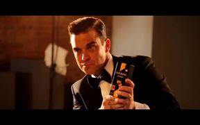 Café Royal Campaign with Agent Robbie Williams