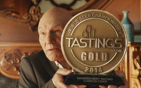 Strongbow: Award with Sir Patrick Stewart