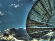 Satellite Dish and Sunlight HDR Time Lapse