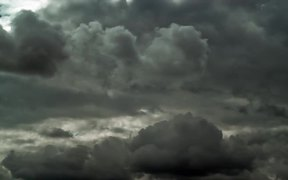 Silver Lining Clouds Time Lapse