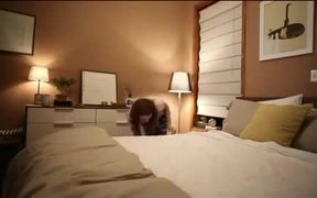 Snickers Commercial: Bedtime