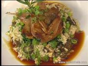 Squab Salad and Couscous by Alfred Portale