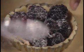 Blackberry Cobbler with Honeysuckle Crème