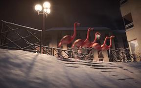 France 3 Video: Flamants - Ski