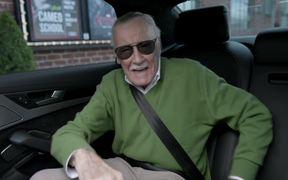 Audi Commercial: Stan Lee Cameo School
