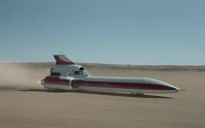 Old Spice Commercial: Rocket Car