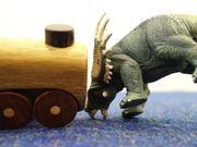 Toy Train Crash