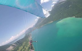 Paragliding Incidents Flight Mini Sail