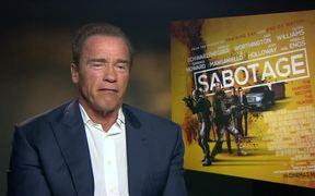 Arnold Schwarzenegger Sabotage Interview