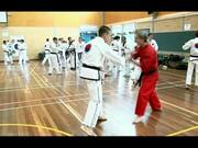 Master Paul Mitchell United Taekwondo Training