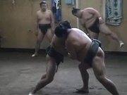 Sumo Wrestling Practice
