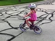 Little Biker Girl