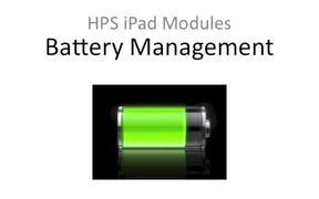 Battery Management - Quitting Apps