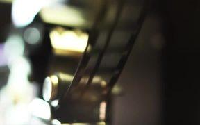 Film Strip in Macro View