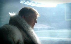 """""""Joe Namath"""" with Donald Trump"""