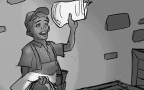 Ragewar Animatic Storyboard