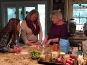 Pretzel Baking Lesson with My Mom & Friends