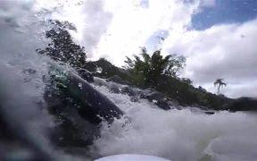 Winter Swimming - Whitewater KAYAK