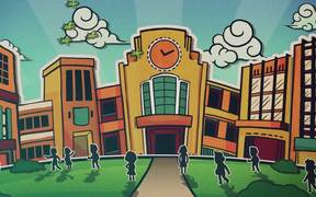 The School News Opening Montage