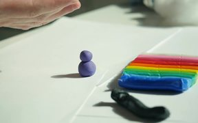 Molding Various Shapes Out of Plasticine