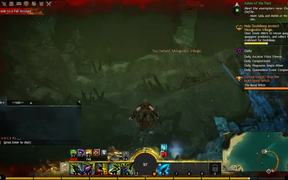 Guild Wars 2 - Underwater Combat and Drowning Girl