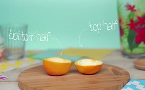 How to Make an Orange Peel Candle