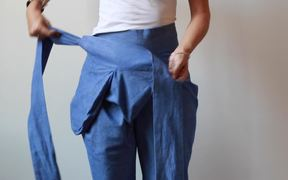 How To Wear The Sideswept Dhoti