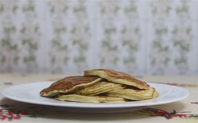 Banana Pancake Βreakfast