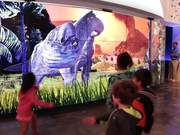 Dino Stomp Interactive Video Wall