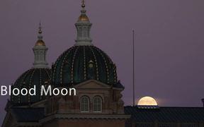 Blood Moon over Des Moines