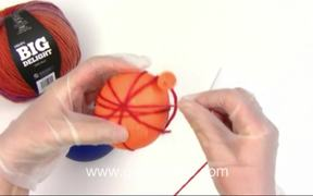 How to Make a Decorative Skein Ball