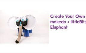 Makedo + littleBits Elephant