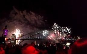 Sydney New Year's Eve Fireworks 2015