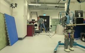 Robots That Walk Naturally, Like Humans