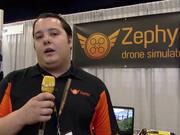 Zephyr Drone Flight Simulator