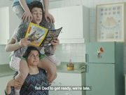 Three Chefs Super Pane Commercial: Shaving