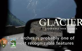 Glacier National Park: Triple Arch