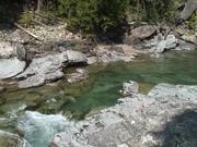 Glacier National Park: McDonald Creek Overlook
