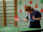 Powerful Yogurt Commercial: Ping-Pongman