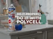 Polycell Commercial: No More Unsightly Cracks