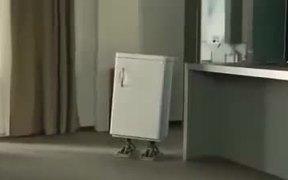 Heineken Commercial: Walking Fridge
