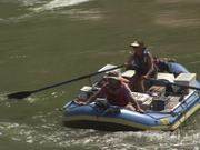 Grand Canyon National Park: Blue Raft in Rapid