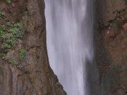 Grand Canyon National Park: Pan Down Falls, Close